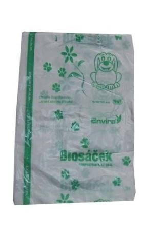 HBABio Kompostovatelné sáčky na psí exkrementy 50 kusů