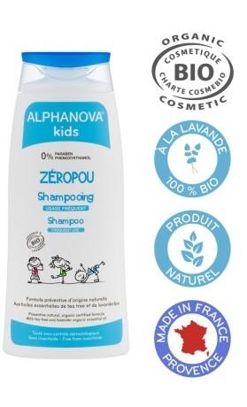 Alphanova Santé BIO Šampon proti vším 200 ml