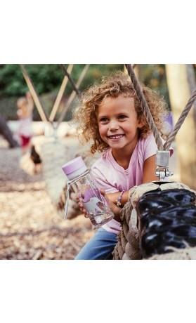 Equa Dětská plastová lahev na pití Elephant