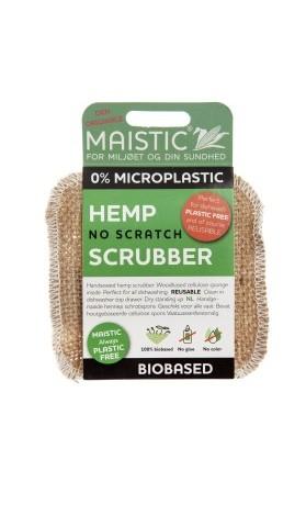 MAISTIC 100% Přírodní houba na mytí nádobí (hemp/celulóza)