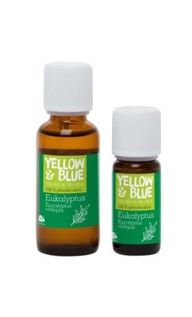 Yellow Blue Silice Eukalyptus