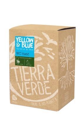 Yellow&Blue WC čistič s vůní borovice, bag-in-box