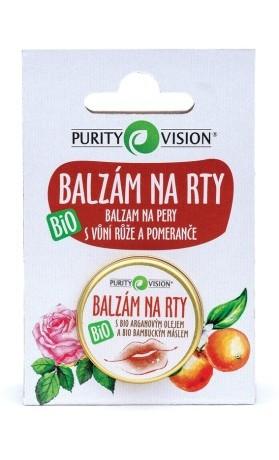 PURITY VISION Balzám na rty Bio