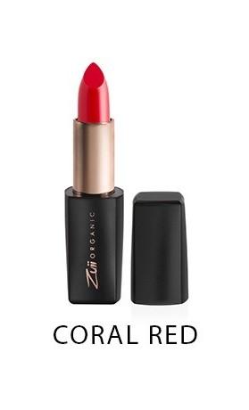 Zuii Organic Lux Bio rtěnka - Coral Red