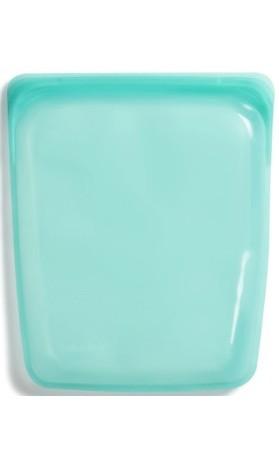 Stasher Large Aqua - opakovaně použitelný zdravý sáček vel. Large 21,5 x 26 cm