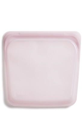 Stasher sandwich rose - opakovaně použitelný zdravý sáček vel. standart 18 x 19 cm