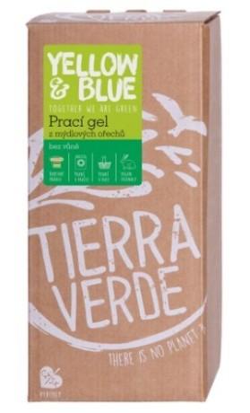 TIERRA VERDE Prací gel bez vůně (bag-in-box 2l)