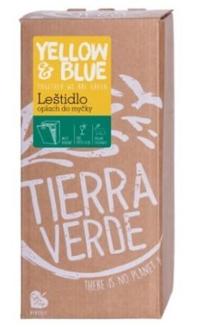Tierra Verde Leštidlo - Oplach do myčky (bag-in-box 2 l)