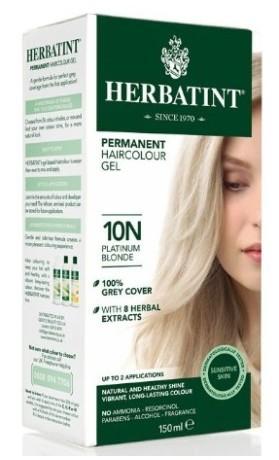HERBATINT permanentní barva na vlasy Platinová blond 10N