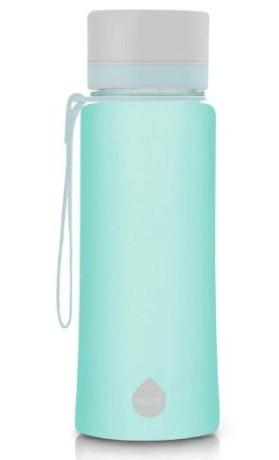 EQUA Plastová lahev na pití Plain Ocean bez BPA