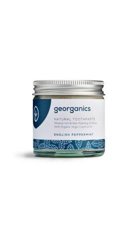 Georganics Přírodní zubní pasta - English Peppermint (anglická máta)