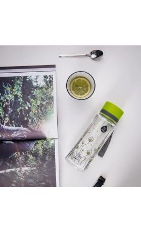 Equa Plastová lahev na pití pro děti Green Leave