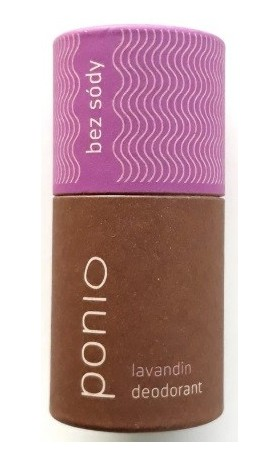 Ponio Lavandin - přírodní deodorant soda free