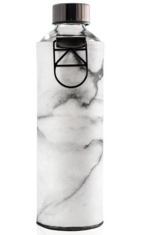 Equa Skleněná lahev z borosilikátového skla MISMATCH Stone