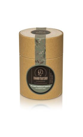 Haaro Naturo Bylinný práškový no-poo šampon na mastné vlasy
