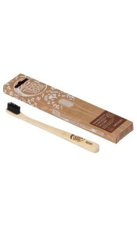Tierra Verde Bambusový kartáček na zuby střední – medium