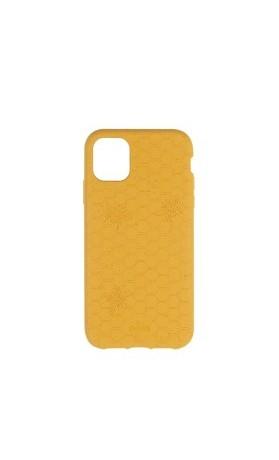 Pela Case Kompostovatelný obal na iPhone 11 - Medová včelička