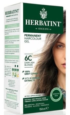 HERBATINT permanentní barva na vlasy tmavá popelavá blond 6C