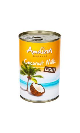 Krém kokosový 9% tuku 400ml BIO   AMAIZIN