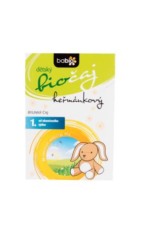 Čaj Heřmánkový dětský 20g BIO   BABIO