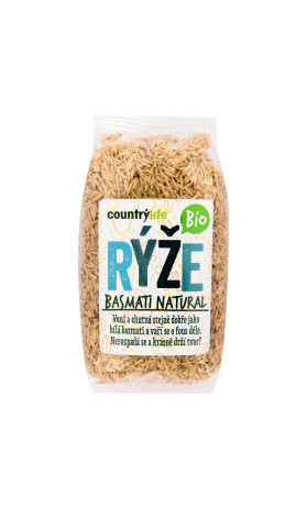 Rýže basmati natural 500 g BIO   COUNTRY LIFE