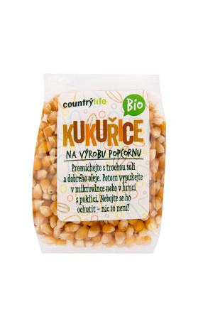 COUNTRYLIFE Kukuřice na výrobu popcornu BIO