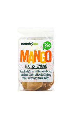 COUNTRYLIFE Mango plátky sušené BIO