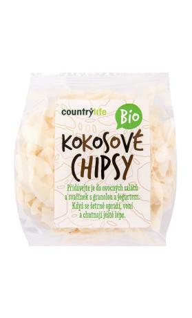 COUNTRYLIFE Kokosové chipsy BIO