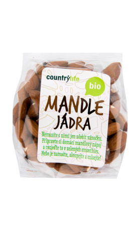Mandle 100g BIO   COUNTRYLIFE