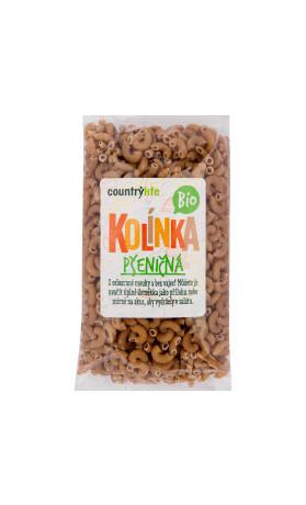 Těstoviny kolínka pšeničná 400g BIO   COUNTRYLIFE