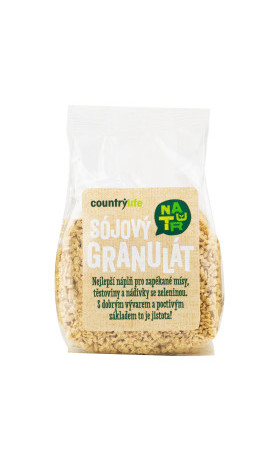 Sójový granulát 100g   COUNTRYLIFE