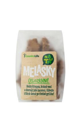 Sušenky melasky celozrnné 150 g   COUNTRY LIFE