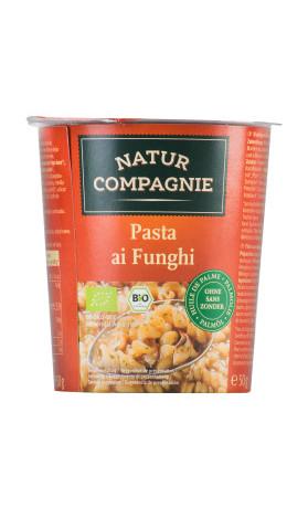 NATURCOMPAGNIE Nudle s houbami instantní BIO