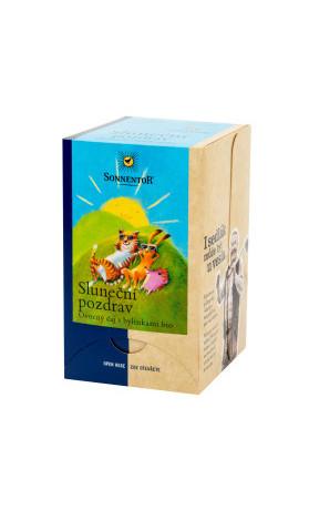 Čaj Sluneční pozdrav 45 g BIO   SONNENTOR