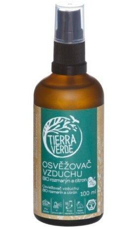 Tierra Verde Osvěžovač vzduchu BIO rozmarýn a citron