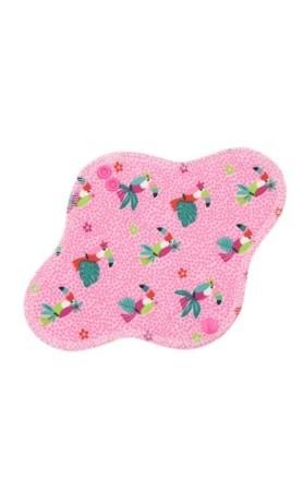 Anavy Denní vložka PUL - Papoušci (růžová) 23 cm
