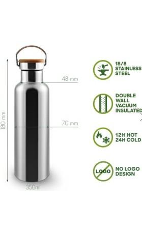 Bambaw Nerezová termoska na vodu 350 ml