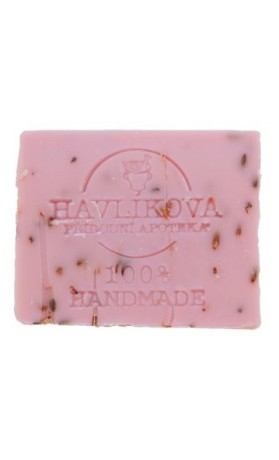 Havlíkova přírodní apotéka Relaxační olejové mýdlo Levandule