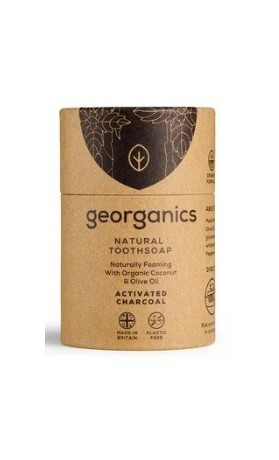 Georganics Mýdlo na zuby - Activated Charcoal