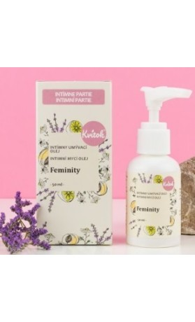 Kvitok Intimní mycí emulze - FEMINITY