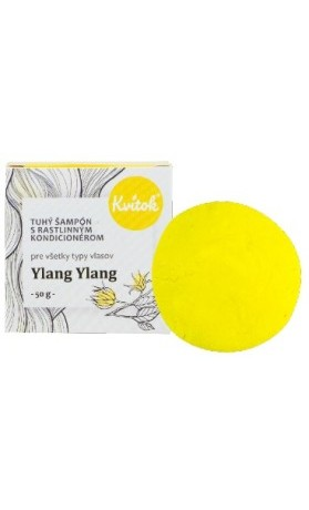 Kvitok Přírodní tuhý šampon s kondicionérem - Ylang Ylang XXL
