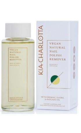 Kia Charlotta Přírodní odlakovač Eucalyptus & Lemongrass