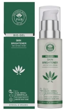 PHB Ethical Beauty Rozjasňující Bio Gel s Aloe, Neroli & Immortelle