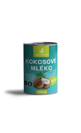 Allnature Kokosové mléko BIO