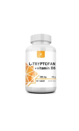 Allnature L-tryptofan 200mg/2,5mg vitamin B6
