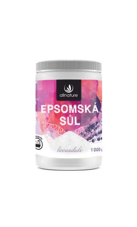 Allnature Epsomská sůl Levandule