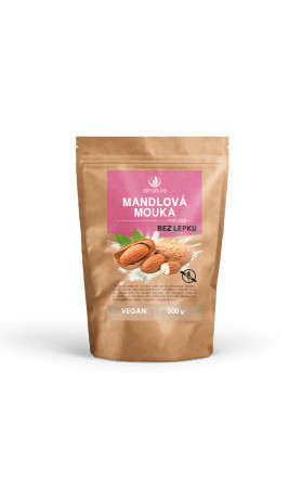 Allnature Mandlová mouka natural 500 g