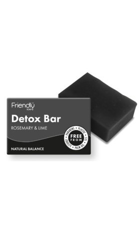 Friendly Soap přírodní mýdlo detoxikační - rozmarýn a limetka