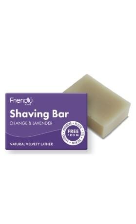 Friendly Soap přírodní mýdlo na holení - pomeranč a levandule