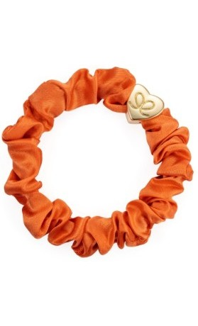 byEloise Gumička Gold Heart Silk Orange Peel